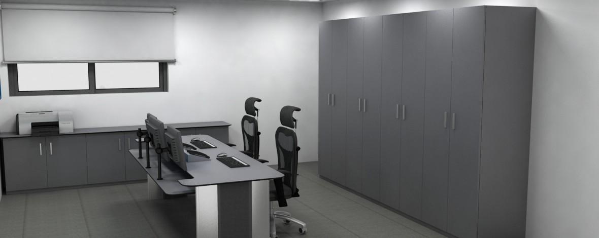Dise o de salas anexas y despachos para centros de control for Diseno de despachos