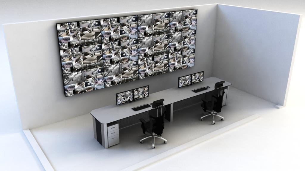 Videowalls para CCTV
