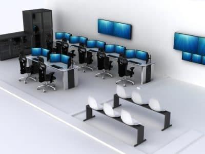 Consolas de Control para Centro de Control
